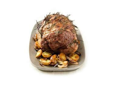 boneless lamb roast - 6