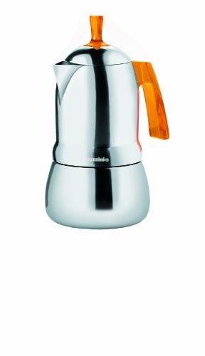 21390345 Espressokocher 3 Tassen Art&Cafe' Guzzini orange