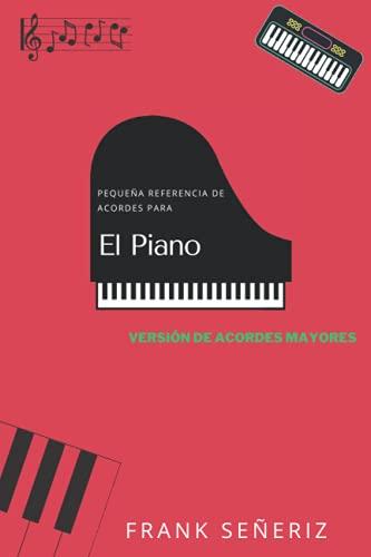 Pequeña referencia para acordes de piano: Versión de acordes mayores