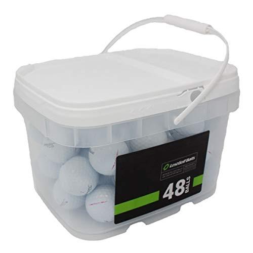 Titleist Player Mix 48 Recycled Golf Balls, White
