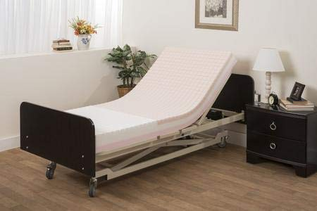 Pressure Redistribution Foam Hospital Bed Mattress - 3 Layered Visco...
