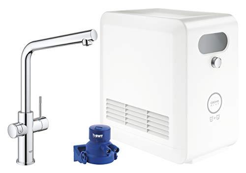 GROHE Blue Professional | L-Auslauf Kit | mit Bluetooth und WiFi, chrom | 31347003