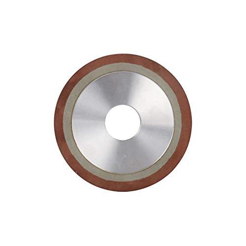LiQinKeJi8 Muela 75/80/100/125/150/180/125/150/180 / 200mm Diamond Molling Mollinder Circle Disc para para la Herramienta de fresado de Acero de tungsteno Metal carburo para pulir