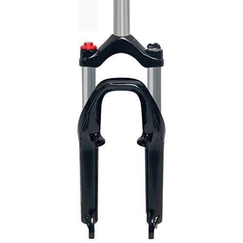 LBBL - Horquilla de suspensión para Bicicleta de montaña MTB (Plegable, 100 mm, Tubo de Carbono)