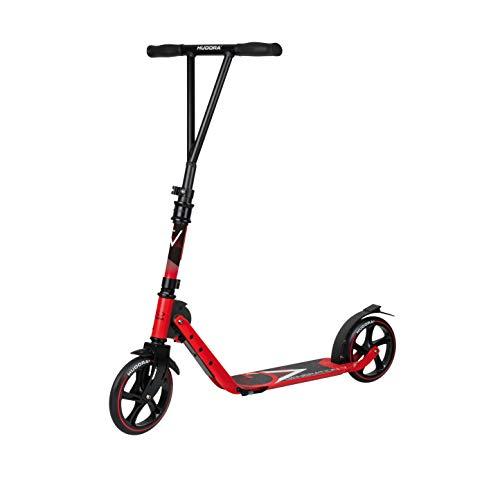 HUDORA Kinder & Jugendliche BigWheel Generation V 205 Scooter Roller Big Wheel, rot