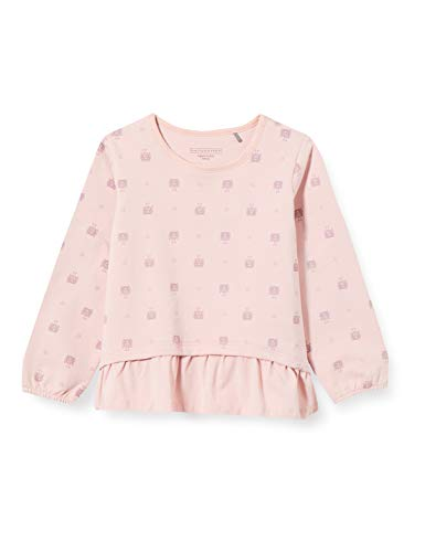 bellybutton Baby-Mädchen Sweatshirt T-Shirt, Allover|Multicolored, 80