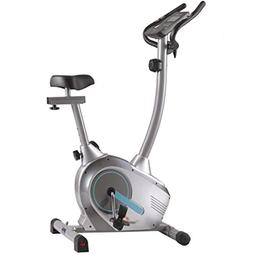 Hometrainers Christopeit Ergometer Woonkamer Verticale Magnetische Controleauto Verstelbare Hometrainer Stille Spinningfiets (Color : Gray, Size : 92 * 52 * 134cm)