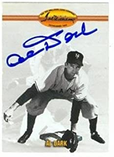 Alvin Dark autographed baseball card (New York Giants) 1993 Ted Williams #52 (67) - Autographed Baseball Cards