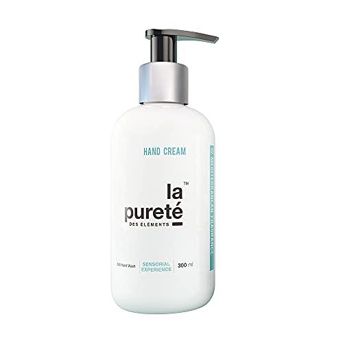 La Pureté Des Éléments - Crema de Manos Hidratante Antiedad con Ácido Hialurónico, Aroma Mediterráneo   Crema de Manos Reparadora +96% Ingredientes de Origen Natural
