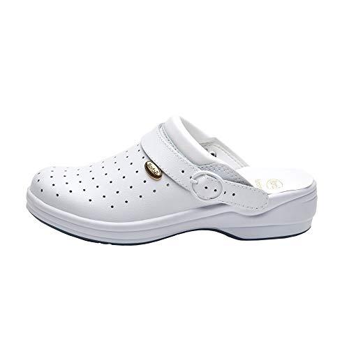 Scholl Bycast Professionelle Schuhe, Größe 38, Weiß
