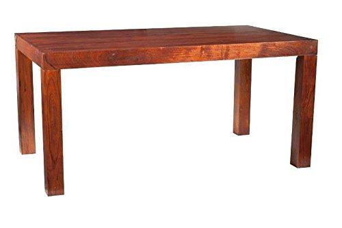 MOBILI COLONIALI Tavolo da pranzo 160X90 acacia MOBILI massiccio OXFORD Cubus #102