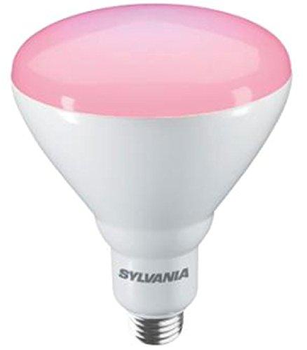 Sylvania LED SYLGRO E27 Wachstumslampe Flowering, IP44, 17 Watt, 400 lm, 125 mm Durchmesser, 25.000 h Lebensdauer, nicht dimmbar
