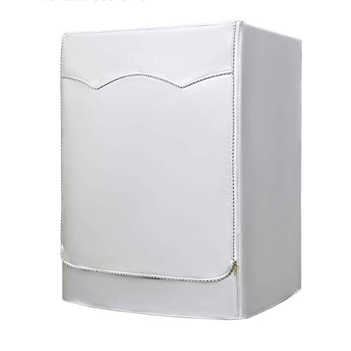 er/Funda para Secadora para máquina de Carga Frontal, Funda para máquina - Diseño de Cremallera - Impermeable y protección Solar (Color: C, Tamaño: XX Large)