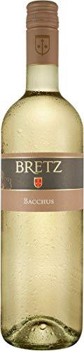 Ernst Bretz Bacchus mild QbA (1x 0,75l) Weißwein lieblich