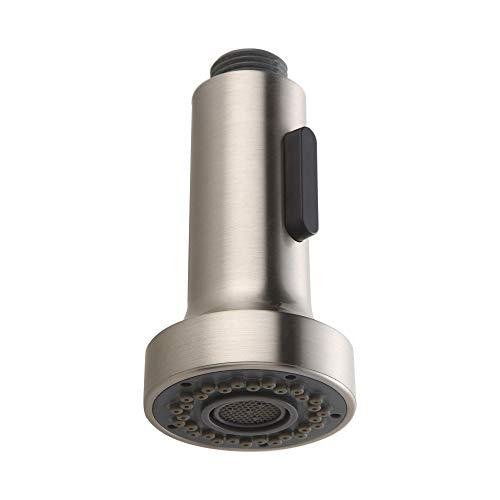 Homelody Ersatz Brausekopf 2 Strahlarten Kunststoff Geschirrbrause Spüle Wasserhahn Küche Küchenbrause