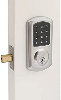 Best brass keyless deadbolt Reviews