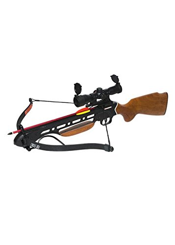 K EXCLUSIVE Avalanche Trail Blazer Crossbow Wooden Stock 150-lb