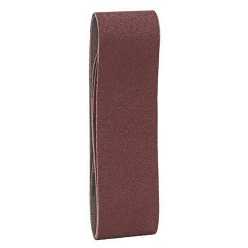 Bosch Professional Schleifband X440 Best for Wood+Paint 40 x 305mm Korn 80, 3 Stück
