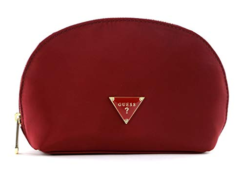 Guess Did I Say 90s? Dome Cosmetic Bag Burgundy