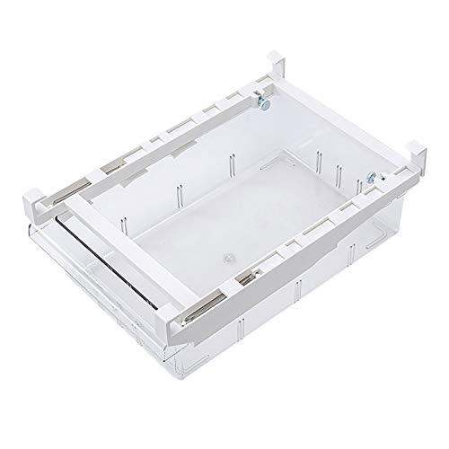 Caja De Almacenamiento Del CajóN Del Refrigerador/Estante De Almacenamiento Desmontable Del Congelador, Caja De Subenvasado De Almacenamiento De Alimentos (blanco- #C)
