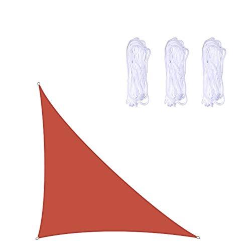 4x4x5.7m TriáNgulo RectáNgulo De De Toldo Vela,Impermeable Sun Shade, Anti-Uv Toldo, Perfecto Para JardíN Exterior BalcóN Terraza Piscina