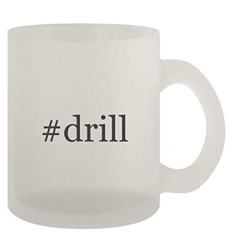 #drill - 10oz Frosted Coffee Mug Cup, Frosted