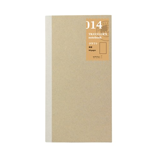 Midori Traveler's Notebook Refill #14 Blank Kraft Paper