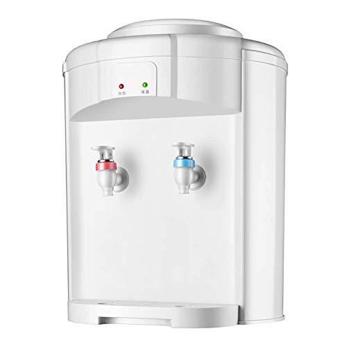 lqgpsx YQGOO Dispensador de Enfriador de Agua de encimera: Agua fría Caliente, Idea para Uso doméstico, 3-5 galones, Blanco