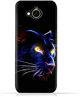 HTC Desire 10 Compact TPU Silicone Protective Case with Panther Eye Design