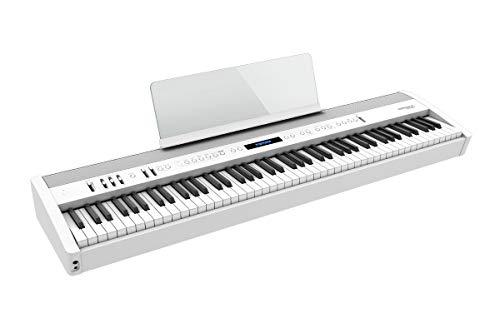 Roland FP-60X Digital Piano, Il piano portatile superiore con migliori suoni, potenti diffusori e ricchi effetti ambience (Bianco)