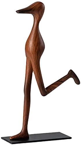 LULUDP Sculpture Figurine da collezione Zen Statue Statua Carattere Scultura Decorazione Art Deco Statua Modello Astratto Art Style Home Desktop Soggiorno Display Display Collezione Decorazione Artigi