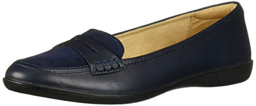 Top 10 best selling list for navy blue flat shoes leather