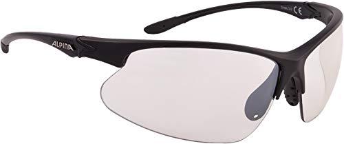 ALPINA DRIBS 3.0 Sportbrille, Unisex– Erwachsene, black matt, one size