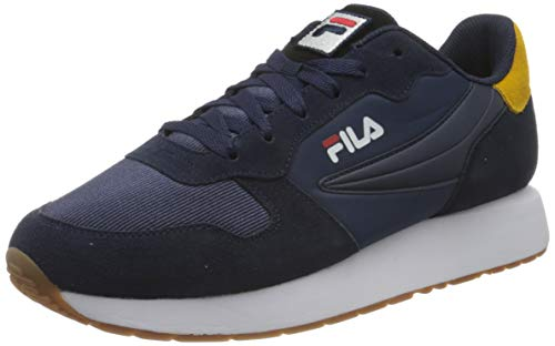 FILA Retroque men zapatilla Hombre, azul (Fila Navy), 46 EU