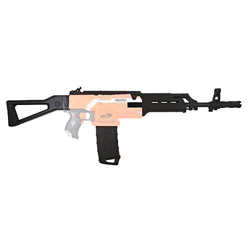 Blasterparts Mod Upgrade Kit für NERF N-Strike Elite Stryfe: AK47 Body Kit - 12-teiliges Set - schwarz - Blaster-Modding & Zubehör