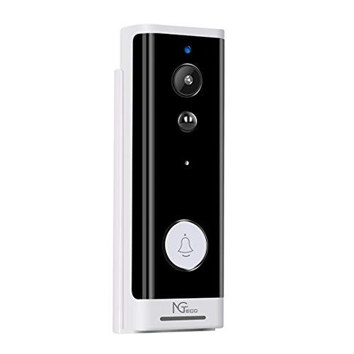 NGTeco Video Portero WiFi Inalámbrico- ZKTeco D100- Batería Integrada