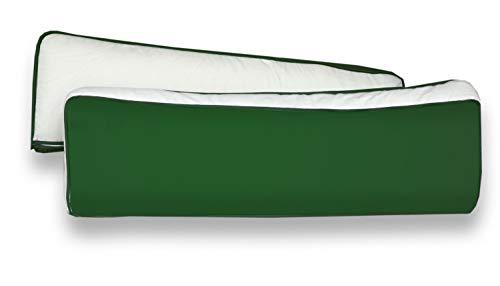 Rückenkissen-Set für Kinderzimmer mit Farbauswahl, Kissenfarbe:Beige Grün