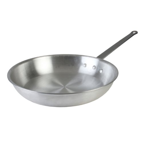 Thunder Group , 14-Inch Aluminum Fry Pan, Commercial Frying Pan, Saute...