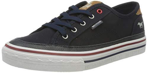 MUSTANG Damen 1354-301 Sneaker, Blau (Navy 820), 41 EU
