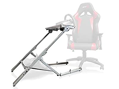 GTR Simulator - Model GTA-Lite Compact Portable Racing Simulator Home Racing Cockpit Compatible with Office Racing Seat and Racing Rig Control Mounts for Driving and Flight Simulator Gaming