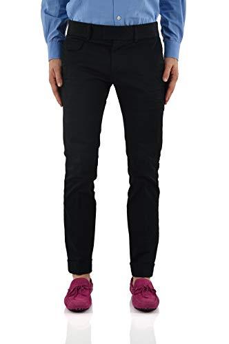 Dsquared2 zwarte broek met tas - maat: 34