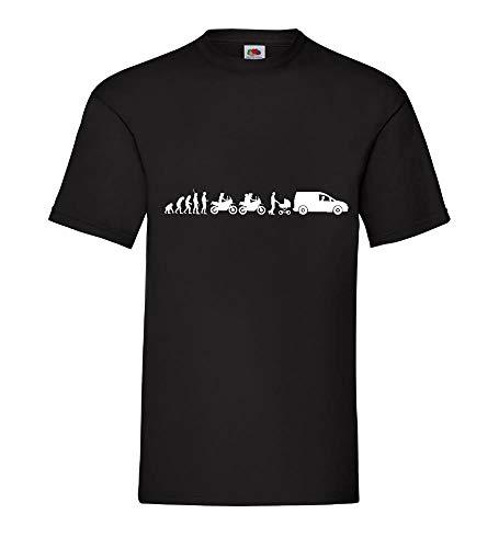 Evolution Adventure Enduro hondenvanger mannen T-shirt - shirt84.de