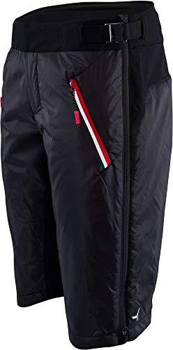 SILVINI Primaloft Short pour Femme Noir/Rouge, XL