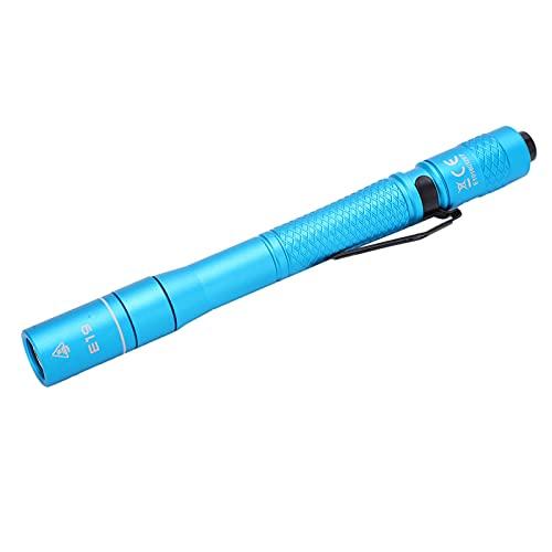 SHYEKYO Bolígrafo LED con luz, Circuito de Corriente Constante de Alta eficiencia, Mini bolígrafo antorcha para Exteriores