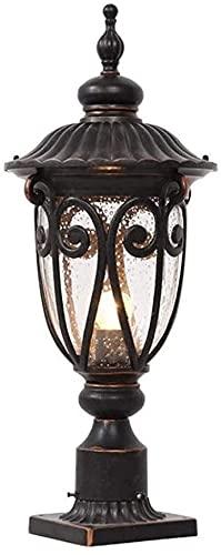 Luz al aire libre de escritorio Patio Pabellón Pabellón Lámpara de columna impermeable Aluminio Metal Burbuja Linterna Lámpara Pilar Pilar Lámpara Extrement Riofloft LOFT LIGHTING Luz Exterior Del Por