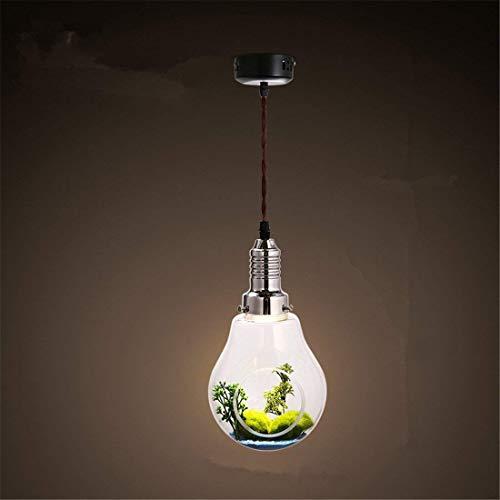 Moderne einfache Glaskolben mit Persönlichkeit; Nordic Deng Creactor, ländlicher Gewächshaus-Restaurant-Grün-Leuchter-dekorative Beleuchtung