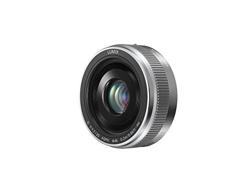 Panasonic H-H020AE-S Pancake-Objektiv Lumix G F1,7/ 20 mm (40 mm KB, 46 mm Filtergewinde)