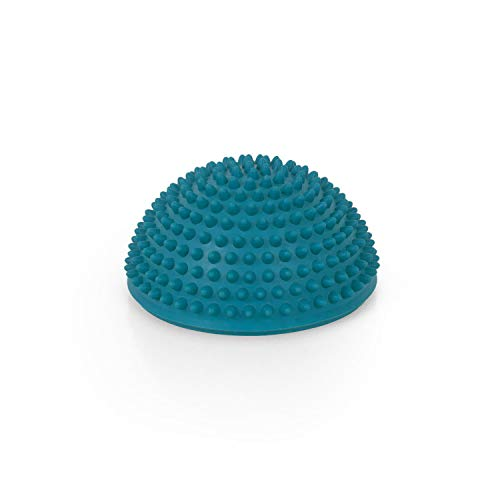 AFH Webshop Therapie Balance-Igel Premium Soft ca. Ø 16 cm Noppenball Massageball Igelball | Farbauswahl (Blau)