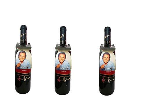 3 Bottiglie Tenute al bano carrisi negroamaro Rosso salento igp 3 x 0,75