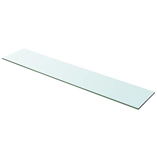 Glasboden Glas Regalboden Glasscheibe Glasplatte Einlegeboden Glasablage, 100 x 20 cm (L x B) Max....